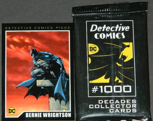 Wondercon 2019Detective Comics #1000 card