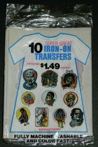 t-shirt iron-onsSealed pack