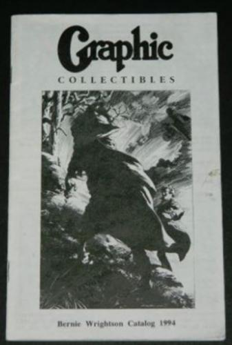 Graphic Collectibles1994 art catalog 29pgs.