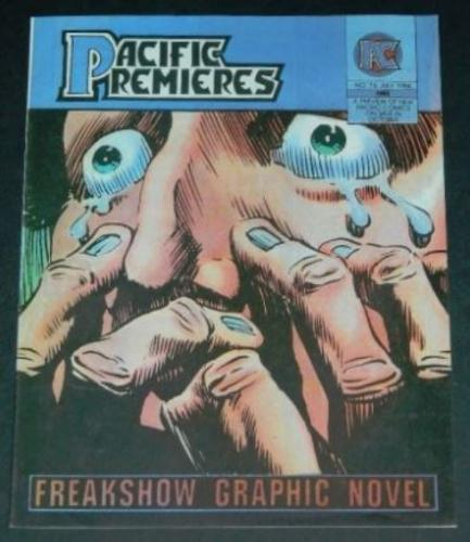 Pacific Premieres #16July 1984, cover, interior art