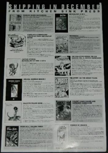 Kitchen Sink Press flyerInside listings