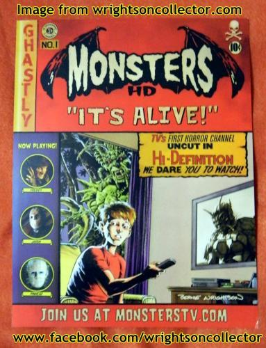 Monster HDCardboard ad, front