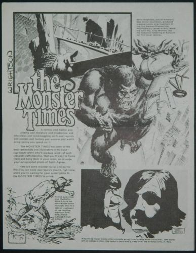 Monster Times ad