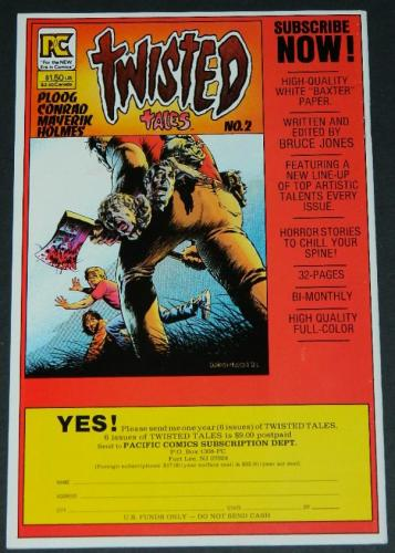 Twisted TalesFull pg. ad