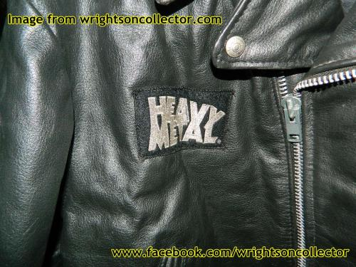Captain Sternn Leather JacketHeavy Metal Magazine offer