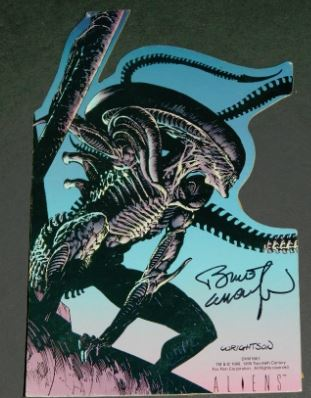 Aliens stand-upSigned