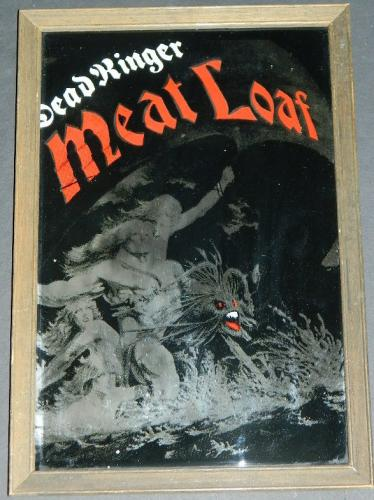 "Meat Loaf Dead Ringer9""x11"" Carnival mirror"