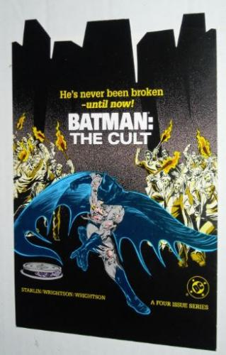 Batman plastic comic divider