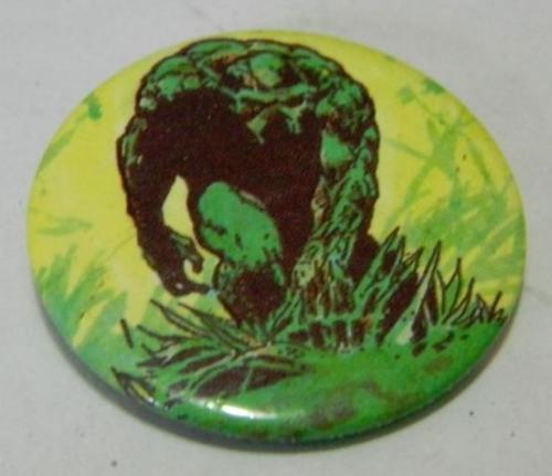 Swamp Thing buttoncame w/ Batman Classic Tales UK 1991