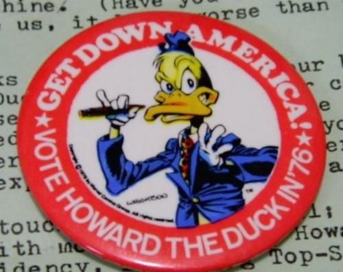 Howard the Duck button
