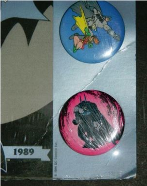 Batman button collection #3Bernie button