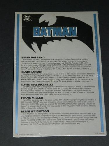Batman button collection #3back