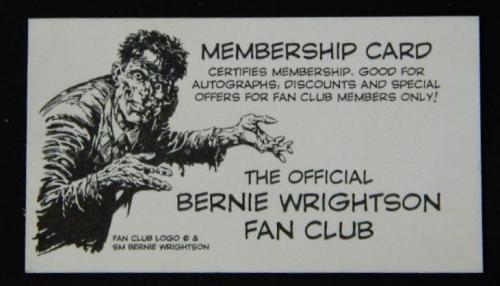 Fan Club card