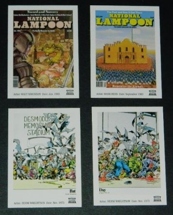 National Lampoon cardsbottom row - Bat Day
