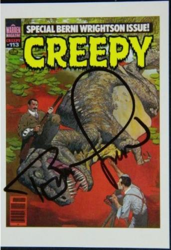 Creepy cardCover Signed