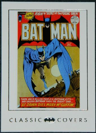 Batman card #30Classic covers