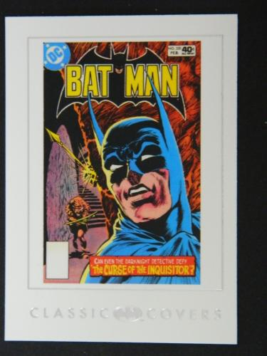 Batman card #37Classic covers