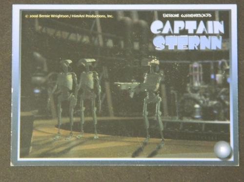 Captain Sternn cardback