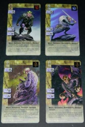 Heresy Kingdom Come cards1995