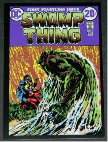 Swamp Thing postcard
