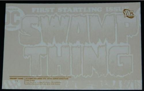 Swamp Thing postcardback