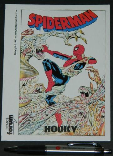 Hooky postcard1990 Comics ForumSpain