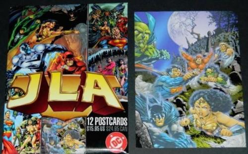 JLA 12 pack postcards#2 Ghosts