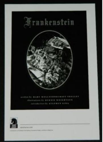 Frankenstein bookplateunused