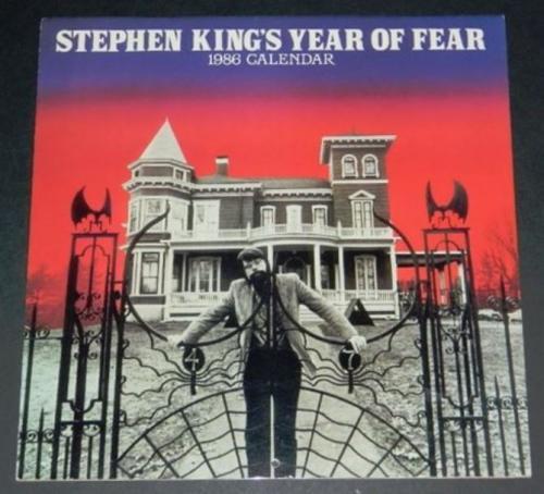 1986 Stephen King Calendar