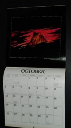1986 Stephen King CalendarOctober