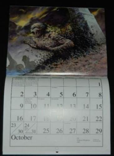 1994 Fantasy CalendarOctober
