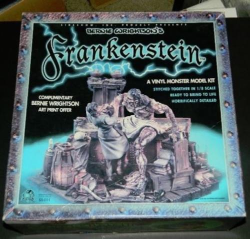 Frankenstein modelSideshow