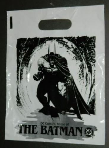 Batman plastic bag