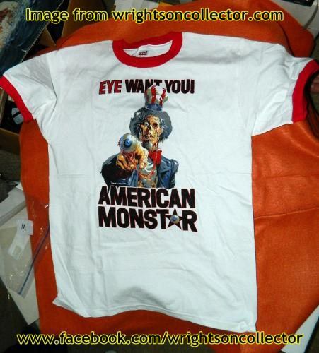 Monsters HD t-shirtfront
