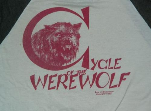 Cycle of the Werewolf t-shirtback