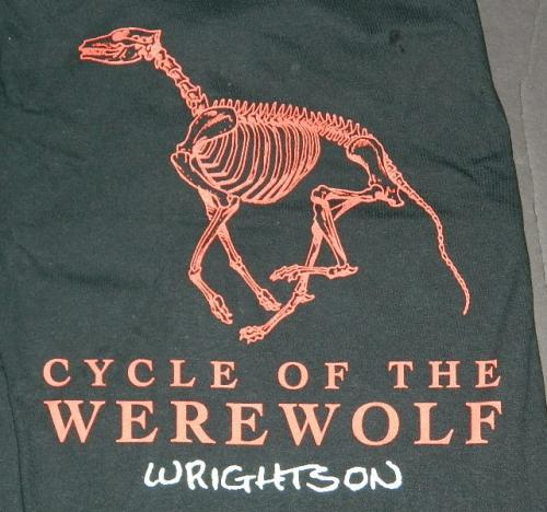Cycle of the Werewolf t-shirt Nakatomi kickstart