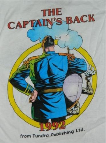 Captain Sternn t-shirtback