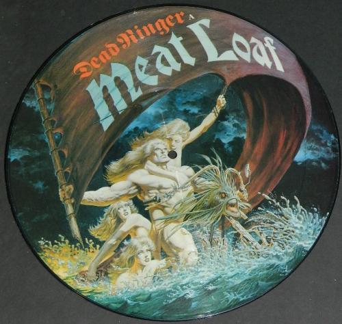 "Meat Loaf Dead RingerUK 12"" picture discFront"