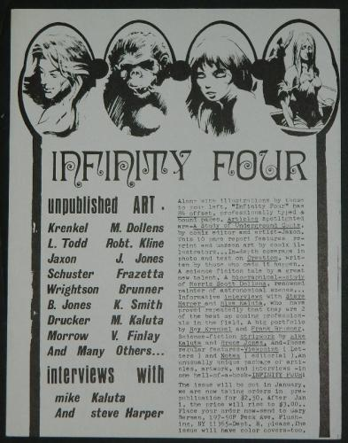 Infinity Four ad
