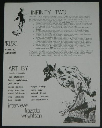 Infinity #2 ad