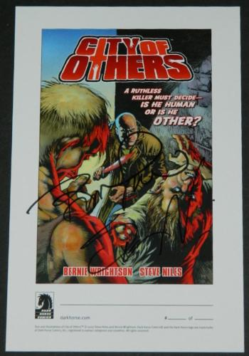 City of Others bookplateSigned by Bernie/Niles