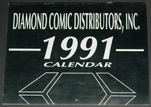 1991 Diamond CalendarThe Cult