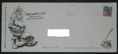 SideShow Winter 96-97 Catalogmailing envelope