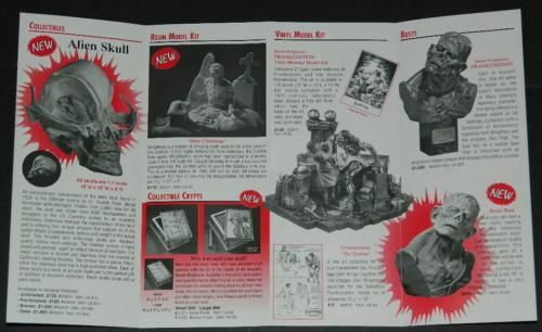 SideShow Winter 96-97 Cataloginside front