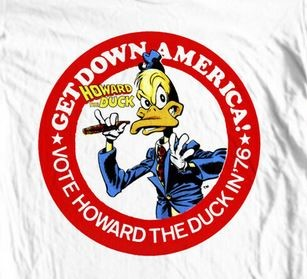 Vote Howard the Duck t-shirt