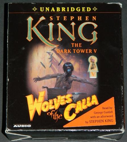 Dark Tower V - Wolves of the Calla22 CD audio box art