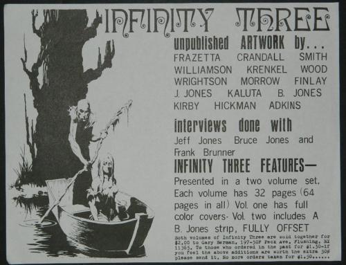 Infinity #3 ad