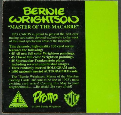unreleased/uncirculated promo cardback