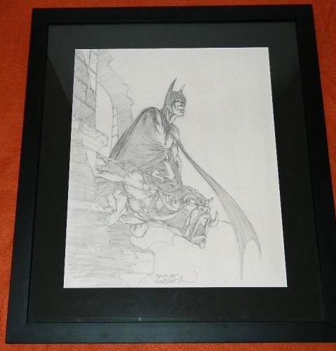 Batman Pencil Art