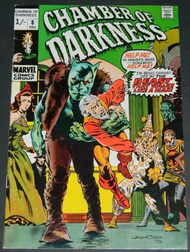 Chamber of Darkness #8UK Pence variant